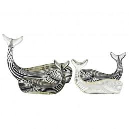Abraham Palatnik Set of Four Whales
