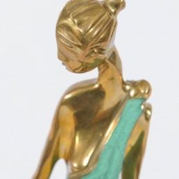 Art Deco Female Figurine in the Style of Werkstätte Hagenauer