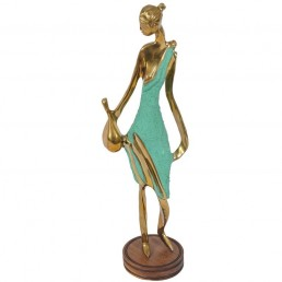 Art Deco Female Figurine in the Style of Werkstätte Hagenauer