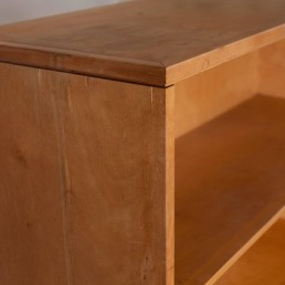 Detail midcentury bookcases / writing desks BB02 by Cees Braakman for Pastoe