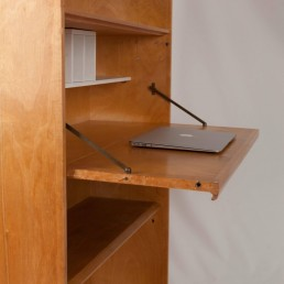 Midcentury bookcases / writing desks BB02 by Cees Braakman for Pastoe