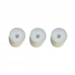 Set of three sconces 235 by Cini Boeri for Arteluce