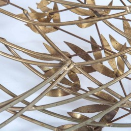 Curtis Jeré Brass Leaves Sculpture