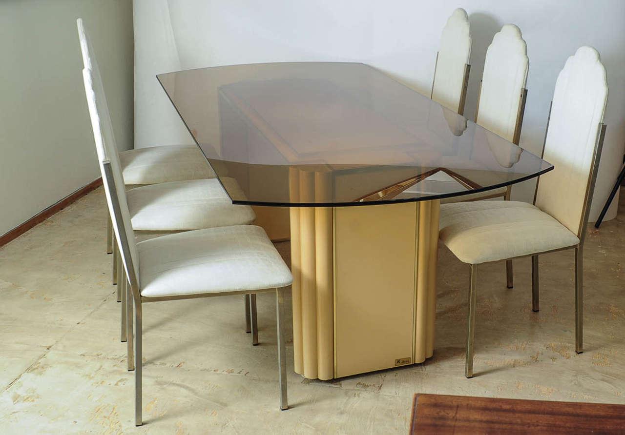 Hollywood Regency Dining Table By Alain Delon For Maison Jansen France Doctor Decorum