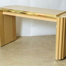 Hollywood Regency Dining Table by Alain Delon for Maison Jansen, France