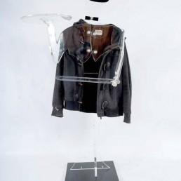 Dress and Present Boy, Made of Plexiglass