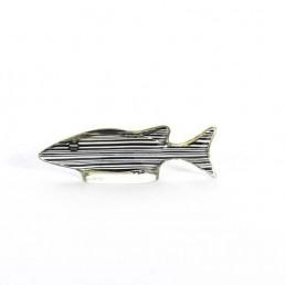 Set of 3 Midcentury Lucite Fish Designed by Brazilian Artist Abraham Palatnik