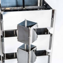 Detail rare geometric pendants by Jan Hoogervorst for Anvia Holland