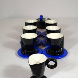 Memphis coffee set from the Hollywood collection by Marco Zanini for Flavia