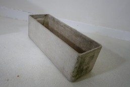 Willy Guhl Rectangular Swiss Midcentury Planter for Eternit