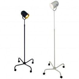 Pair of postmodern floor lamps Panto Beam by Danish designer Verner Panton