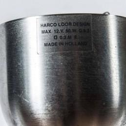 Detail sleek stainless steel pendant by Dutch designer Harco Loor