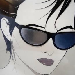 poster Patrick Nagel Sunglasses