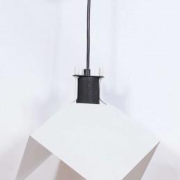Rare Set of Two Triedro Pendants by Joe Colombo for Stilnovo