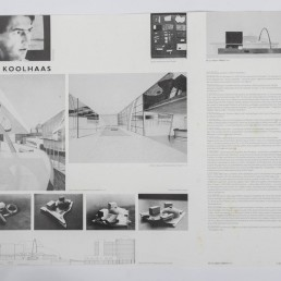 Rem Koolhaas Serigraphy of Nederlands Dans Theater