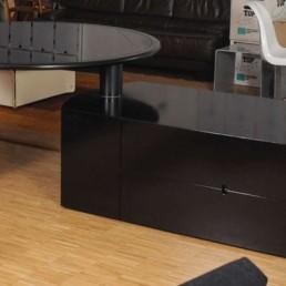 Swivel Dining Table Malibu by Cini Boeri for Arflex