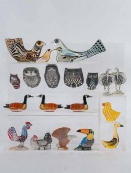 Set of Three Wild Animals Made by Abraham Palatnik