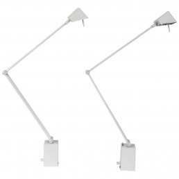 Set of Two Table or Wall Lamps by Koch & Lowy