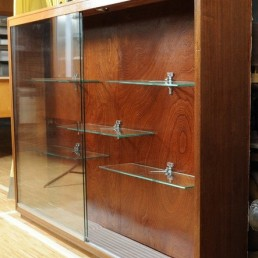 Wall mounted showcase cabinet