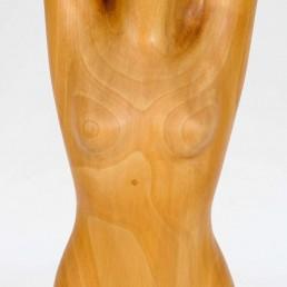 wooden statue Aart Prins