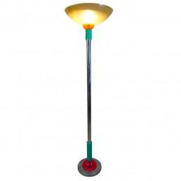 Resin and fiberglass floor lamp by Stephen Zoller