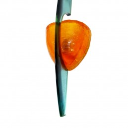 Resin and Fiberglass Sconce Postmodern Memphis Style by Steve Zoller