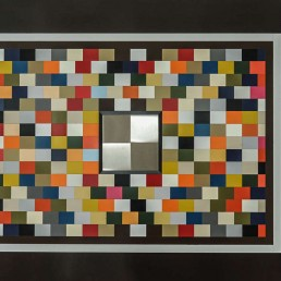 Relief 1970s Art Work by Edmond Segura