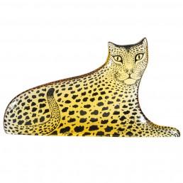 Lucite leopard by Abraham Palatnik