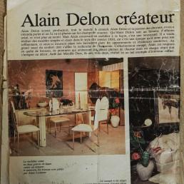 Sideboard Credenza in Hollywood Regency Alain Delon for Maison Jansen, France