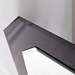 Asymmetric Glass Wall Mirror