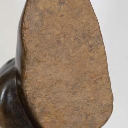 David Bangura Stone Sculpture on Pedestal