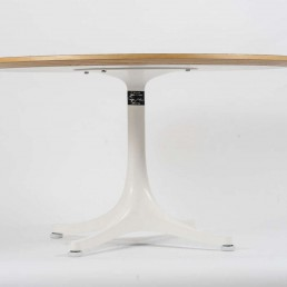Pedestal Coffee Table by George Nelson for Vitra