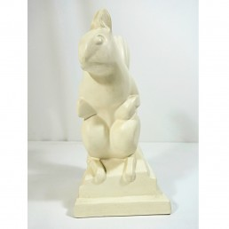Art Deco Ceramic Squirrel by Charles Lemanceau