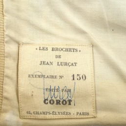 Tapestry Les Brochets by Jean Lurçat by Editions Corot, Numbered and Signed