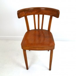 Set of 5 Wooden Dining Chairs Made by KOK