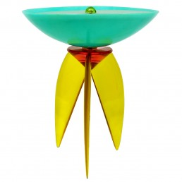 RESIN AND FIBERGLASS TABLE LAMP POSTMODERN STYLE BY STEVE ZOLLER