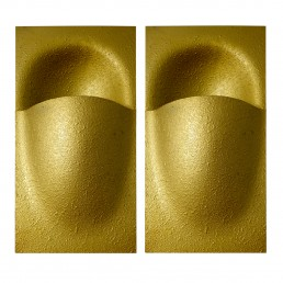Pair of Gold-Colored Balance Sconces by Bertrand Balas for RAAK Amsterdam