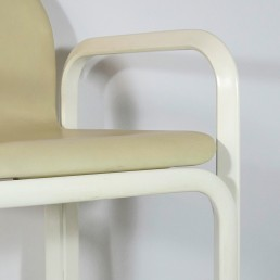 Set of 4 Dining Chairs Orsay Designed by Gae Aulenti for Knoll International