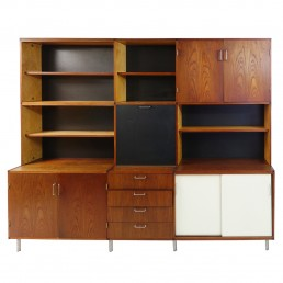 "Mid-Century Modern Wall Unit ""Made to Measure"" by Cees Braakman for Pastoe"