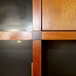 """Mid-Century Modern Wall Unit """"Made to Measure"""" by Cees Braakman for Pastoe"""