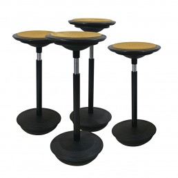 Set of 4 Stitz Stools Designed by Hans Roericht for Wilkhahn