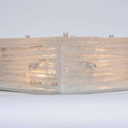 Mid-Century Modern Ceiling Lamp Made of Murano Glass by Austrian Kalmar
