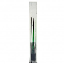 Op-Art Style Green Plexiglass Ostrich Made by Gino Marotta
