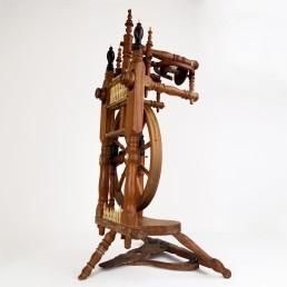 Majestic Spinning Wheel Made of Ebony Wood