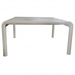 Huge Dining Table with Marble Top 'Orsay' by Gae Aulenti for Knoll International