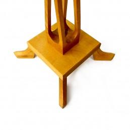 Wooden Candlesticks by Selma Helmer Loberg