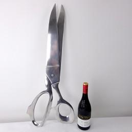 Extra Large Pair of Scissors Made of Aluminium