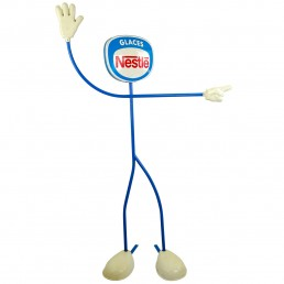 1970s Life-Size Promotional Object Made by Nestlé Selling Ice Cream