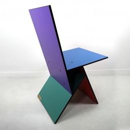 Set of Two Postmodern Vilbert Chairs Designed by Verner Panton for Ikea