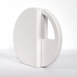 Postmodern Geometrically Shaped Pair of Vases Designed by Dorothé Van Agthoven